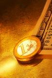 Imaginações da moeda Fotografia de Stock Royalty Free