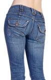 Imaginações das calças de brim foto de stock royalty free