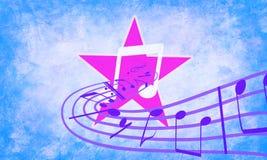 Imaginación de la música Fotografía de archivo libre de regalías
