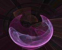 Imaginación dinámica del diseño de la fantasía del ornamento del contexto de la forma del flujo de la elegancia del fractal del c libre illustration