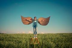 Imaginación y concepto de la libertad fotos de archivo