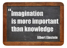Imaginación y conocimiento foto de archivo libre de regalías