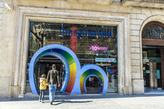 Imaginarium store, Barcelona Royalty Free Stock Photos