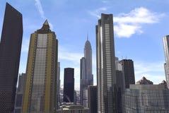 Imaginary city 54. A 3d model of an imaginary city illustration Stock Photo