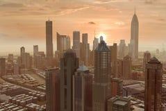 Imaginary city 55. A 3d model of an imaginary city illustration royalty free illustration
