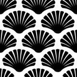 Imaginary decorative seashells. Modern graphic design. Royalty Free Stock Photo