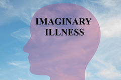 Imaginary Illness mental concept Stock Photography