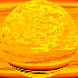 Imaginary molten planet, allegoric depiction of nu Royalty Free Stock Image