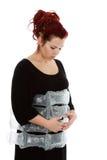 Imaginary pregnancy Stock Image