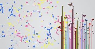 Imagination background Stock Image
