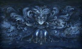 Imagination baroque illustration de vecteur