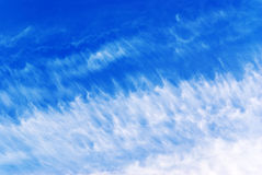 Imagination blue sky background Royalty Free Stock Photo