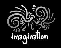 Imagination card Royalty Free Stock Photography