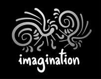 Imagination card. Creative design of imagination card Royalty Free Stock Photography
