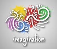 Imagination cover. Creative design of imagination cover Stock Photo