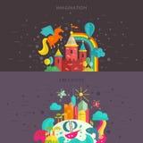 Imagination and Creativity Stock Photos