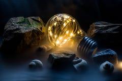 Imagination d'ampoule image libre de droits