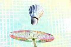 Imagination de badminton partout Photos libres de droits