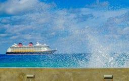Imagination de Bateau-Disney de croisière image libre de droits