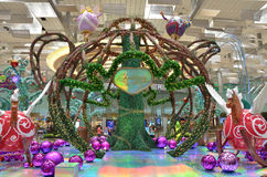 Imagination de Noël de Changi Photographie stock