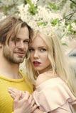 Imagination de secrets de couples Ressort, nature, environnement Photographie stock libre de droits