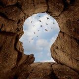 Imagination et concept de découverte illustration de vecteur