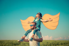 Imagination and freedom concept Stock Photography