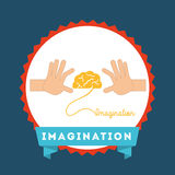 Imagination icon Royalty Free Stock Photos