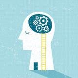 Imagination and Ideas. Textured vector illustration royalty free illustration