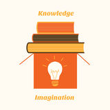 Imagination and knowledge Stock Photography