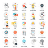 Imagination and Mind Power. Modern flat vector illustration of imagination and mind power icon design concept. Icon for mobile and web graphics. Flat symbol Stock Photo