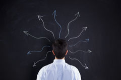 Imagination from our brain Stock Image