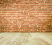 Imagination room. Brick wall in imagination room Royalty Free Stock Image