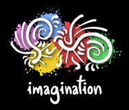 Imagination symbol Royalty Free Stock Image