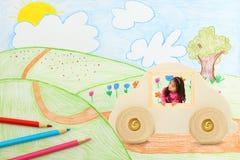 Imagination Transportation royalty free illustration