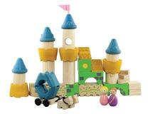 Imagination wooden blocks Royalty Free Stock Photography