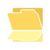 Imaginative folder icon Royalty Free Stock Photography