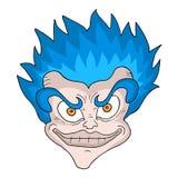 Imaginative head character Royalty Free Stock Photo