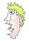Imaginative head Royalty Free Stock Image