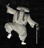 Imaginative Kabuki character Stock Image