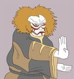 Imaginative kabuki man Royalty Free Stock Photo
