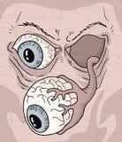Imaginative monster eye Stock Photos