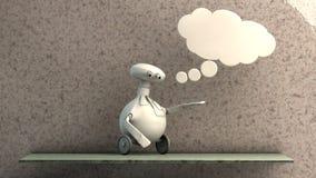 Imaginative robot Stock Photos