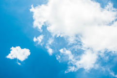 Imagine cloud and blue sky Royalty Free Stock Images