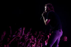 Imagine Dragons perforrms live at Coliseu dos Recreios in Lisbon, Portugal Stock Photo