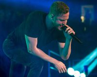 Imagine Dragons on tour Stock Photography