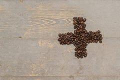 Imagine el fondo de la textura del café Fotos de archivo