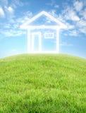 Imagine house Stock Image