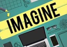 Imagine Imagination Vision Creative Dream Ideas Concept Royalty Free Stock Image