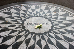 Imagine strawberry fields memorial Stock Images
